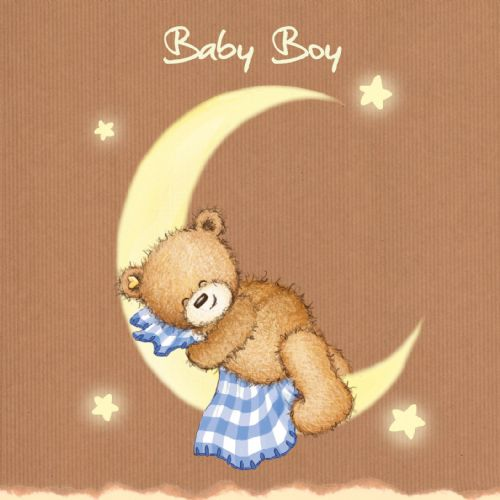 Baby Boy, New baby Card